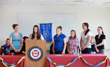 Franklin Pierce University Inducts Students into Psi Chi Honor Society in Psychology