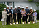 University breaks ground for Petrocelli Hall