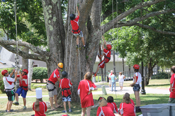 Camp Quest Program at Franklin Pierce University: Jaffrey-Rindge Rotary, Public School System, and FPU Collaborate