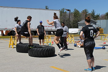 CrossFit Comes to Franklin Pierce University's Rindge Campus