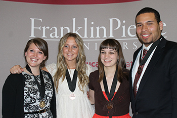 Fitzwater Center Honors Awarded at Franklin Pierce University