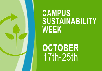 Campus Sustainability Week Events Co-Hosted by Three Higher Education Institutions