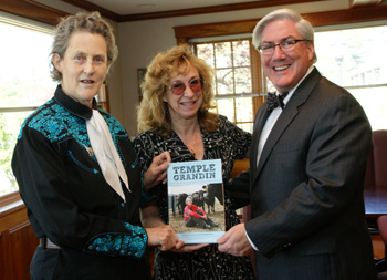 Temple Grandin, Sy Montgomery & Dr. James Birge